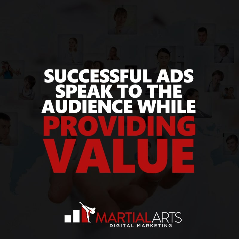 speak to your audience with your martial arts advertising - martial arts digital marketing